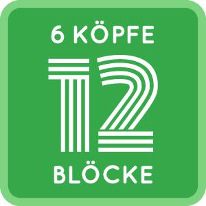 6Köpfe - 12 Blöcke